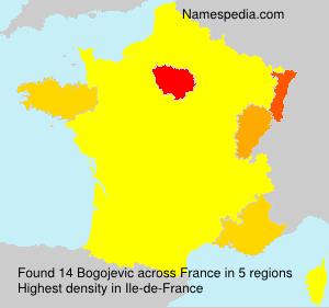 Surname Bogojevic in France