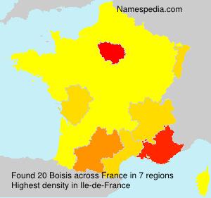 Surname Boisis in France