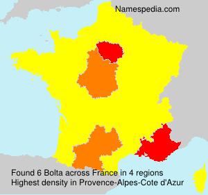 Surname Bolta in France