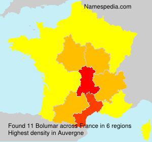 Surname Bolumar in France