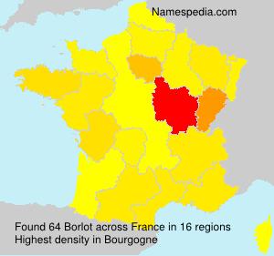 Surname Borlot in France