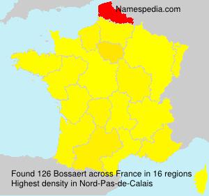 Surname Bossaert in France