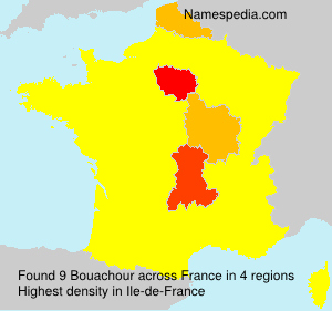 Surname Bouachour in France