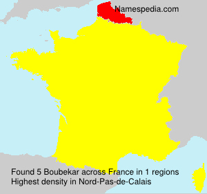 Surname Boubekar in France