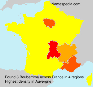 Surname Bouberrima in France