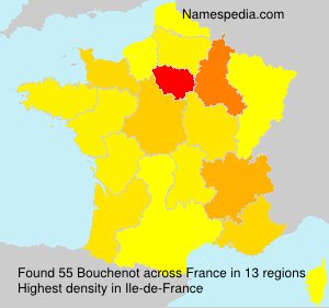 Surname Bouchenot in France