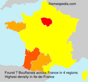 Surname Bouffanais in France
