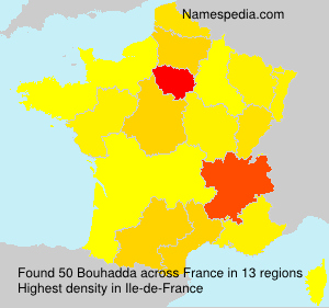 Surname Bouhadda in France