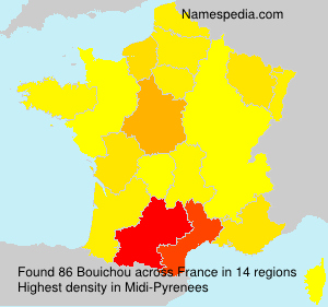 Surname Bouichou in France