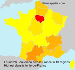 Surname Boukercha in France