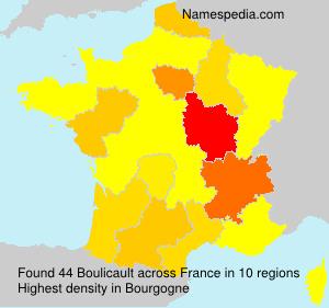 Surname Boulicault in France