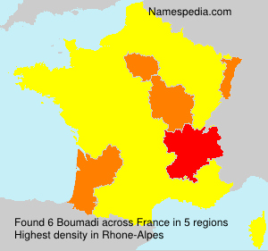 Surname Boumadi in France