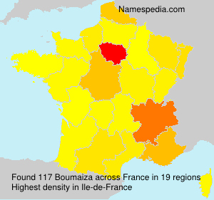 Surname Boumaiza in France