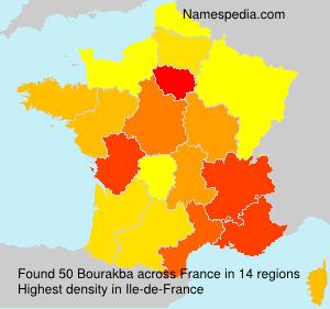 Surname Bourakba in France