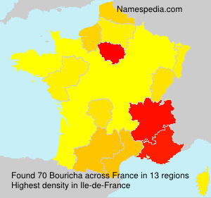 Surname Bouricha in France