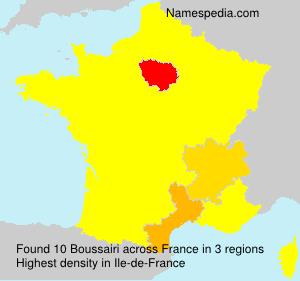 Surname Boussairi in France