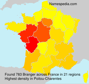 Surname Branger in France