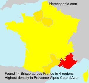 Surname Brisco in France