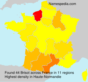 Surname Brisot in France