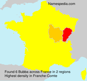 Surname Bubba in France