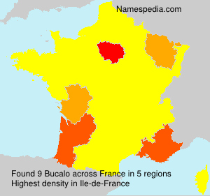 Surname Bucalo in France