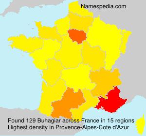 Surname Buhagiar in France