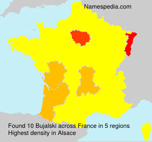 Surname Bujalski in France