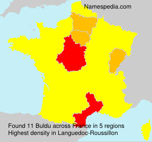 Surname Buldu in France