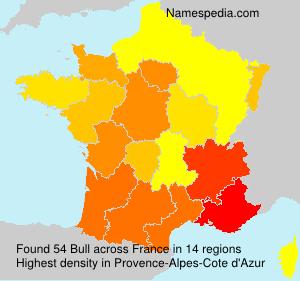 Surname Bull in France