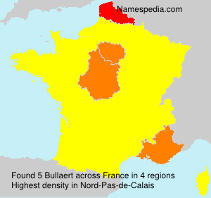 Surname Bullaert in France