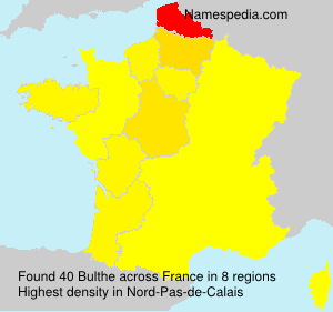 Surname Bulthe in France