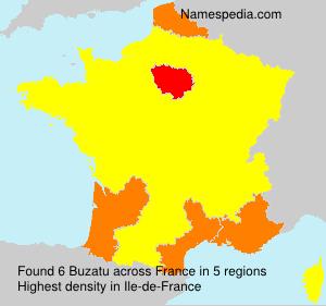 Surname Buzatu in France