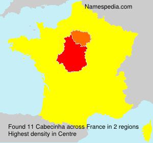 Surname Cabecinha in France