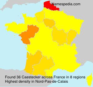Caestecker - France