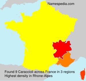 Surname Caraccioli in France