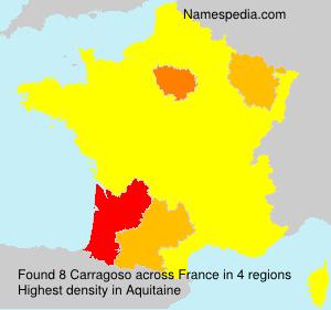 Surname Carragoso in France