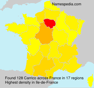 Surname Carrico in France