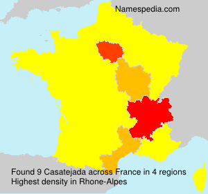 Surname Casatejada in France