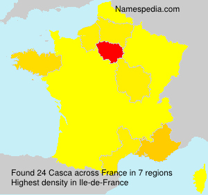 Surname Casca in France