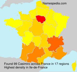 Surname Casimiro in France
