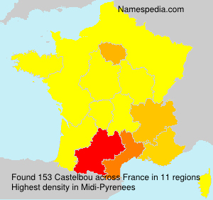 Surname Castelbou in France