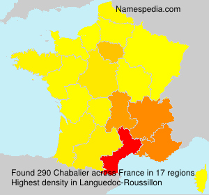 Surname Chabalier in France