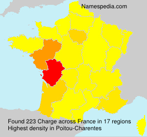 Surname Charge in France