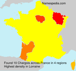 Surname Chargois in France