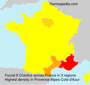 Surname Charitos in France