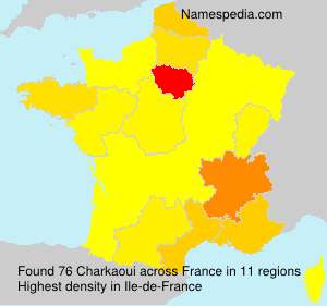 Surname Charkaoui in France