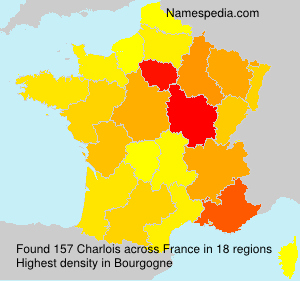 Surname Charlois in France