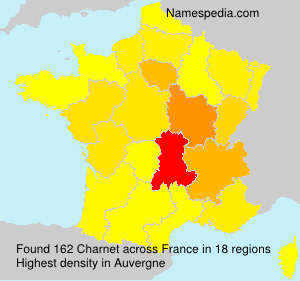 Surname Charnet in France