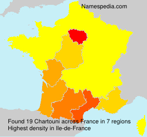 Surname Chartouni in France
