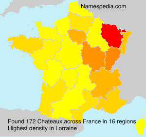 Surname Chateaux in France
